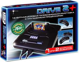 Sega Super Drive 2 16Bit Black