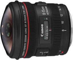 Объектив Canon EF 8-15mm f/4L Fisheye U…