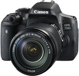Фотоаппарат Canon EOS 750D Kit ...