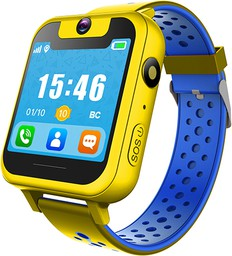 Умные часы Digma Kid K7m Yellow/Blue