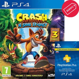 Crash Bandicoot N`sane Trilogy PS4 ан...